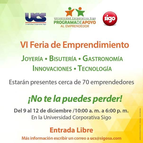 Imagen: Universidad Corporativa Sigo (Facebook)