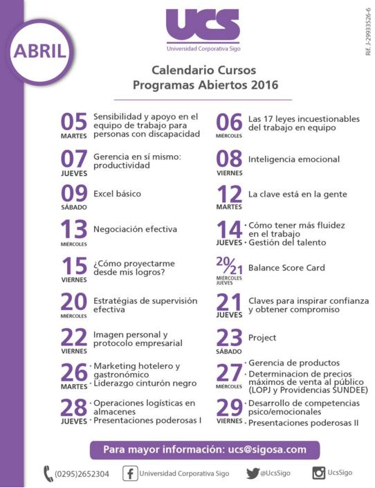 Imagen: Universidad Corporativa Sigo (Twitter)