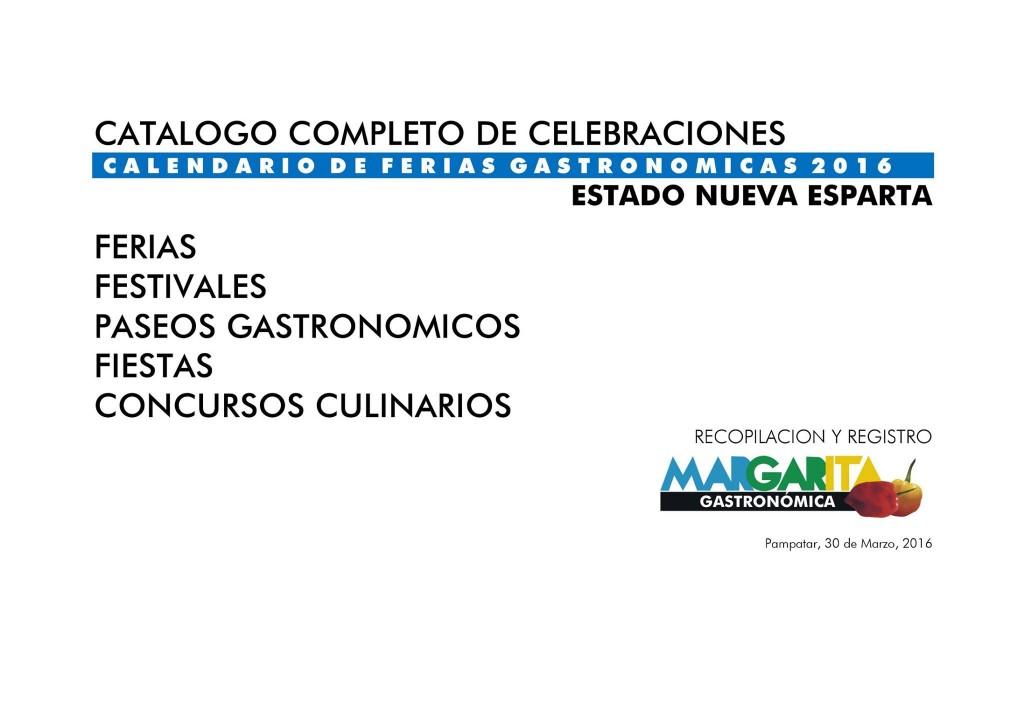 Imagen: Margarita Gastronómica (Facebook)